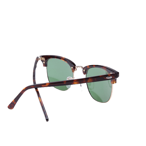 Ray Ban RB3016 Clubmaster Sunglasses In Tortoise Gold W0366 7 1