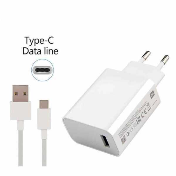 xiaomi maroc travel charger type C charge Turbo 27W